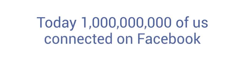 Facebook-1milyar