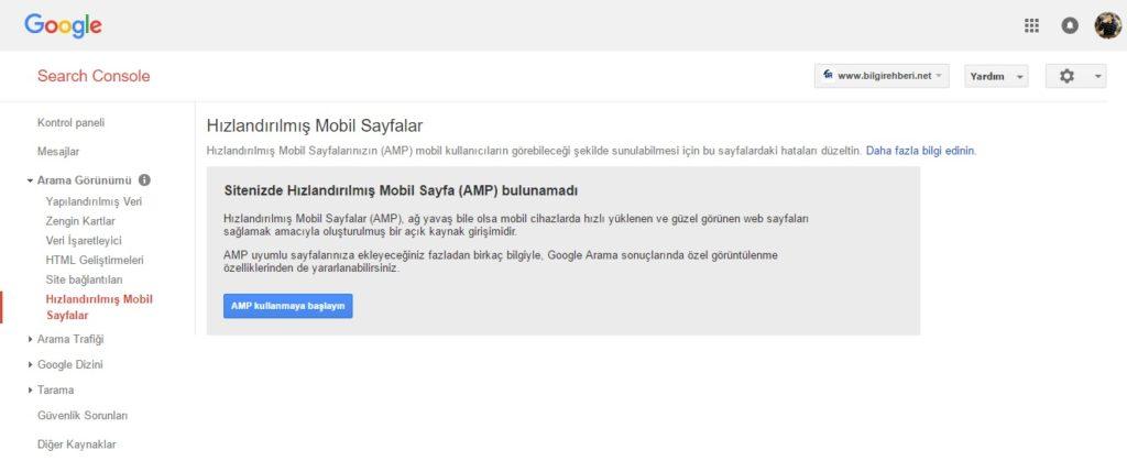 WMT Google AMP
