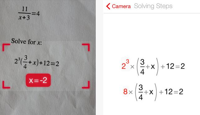 photomath nasıl kullanılır