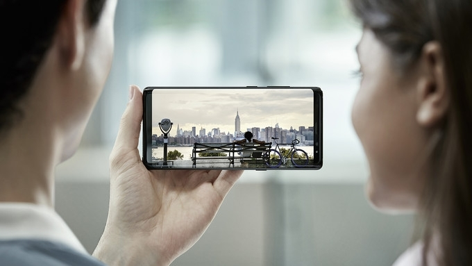 galaxy note 8 ekranı