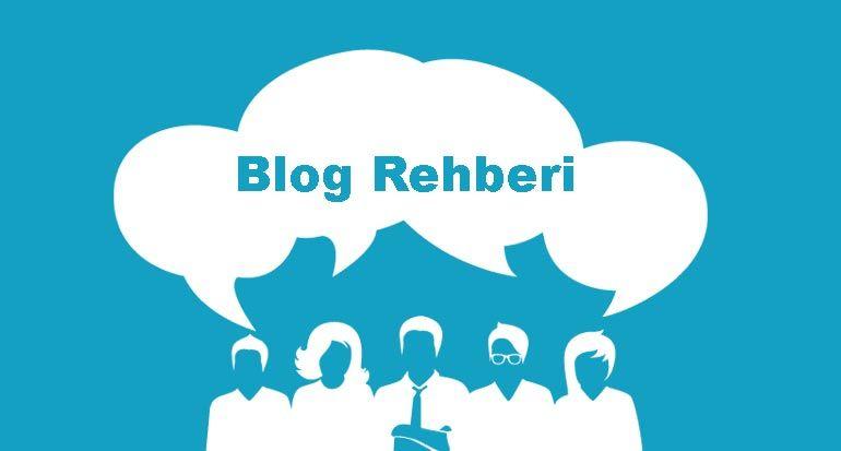 blog rehberi