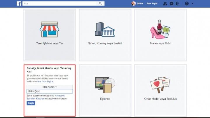 facebookta sayfa açmak-2