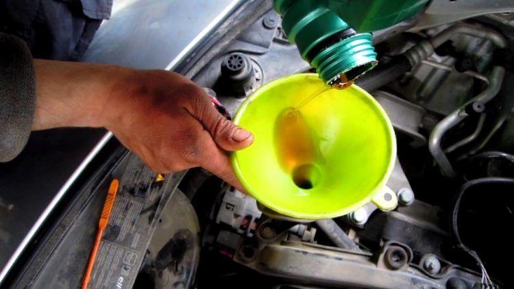 motor yağı değiştirme