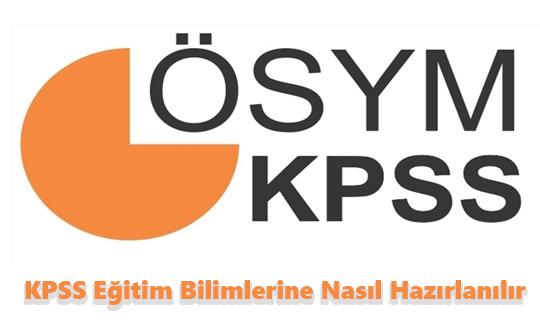 kpss eğitim bilimlerine nasıl hazırlanılır