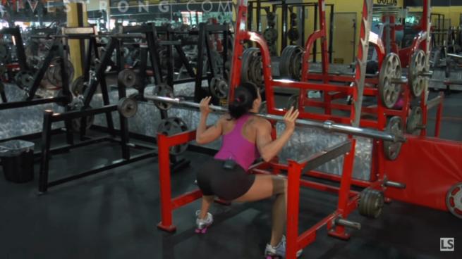 squatta eğilme