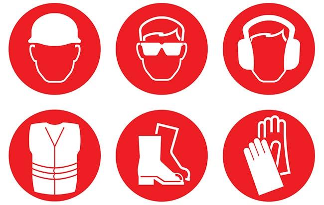 İş güvenliği kıyafetleri