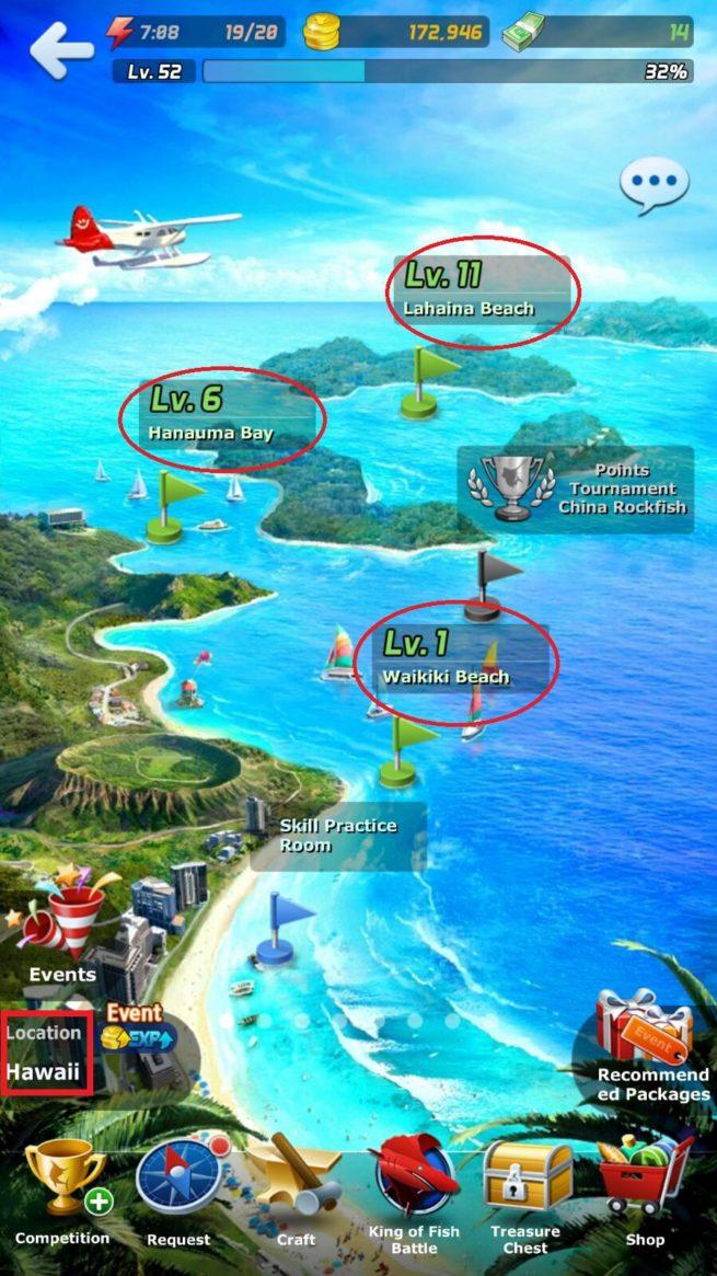 hawai haritası