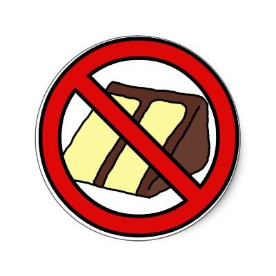 pasta veya hamur işlerinden uzak dur